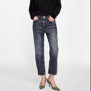 NEW! ZARA The High Waist Ankle Cigarette Jean